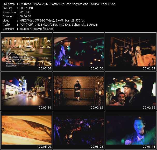 Three 6 Mafia Vs. Tiesto With Sean Kingston And Flo Rida - Feel It