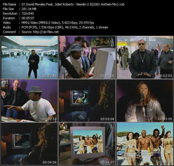 David Morales Feat. Juliet Roberts - Needin U II (2001 Anthem Mix)