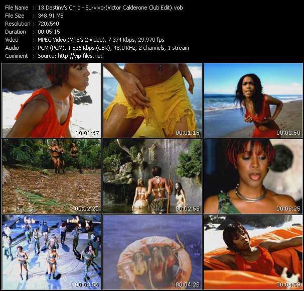 Destiny's Child - Survivor (Victor Calderone Club Edit)