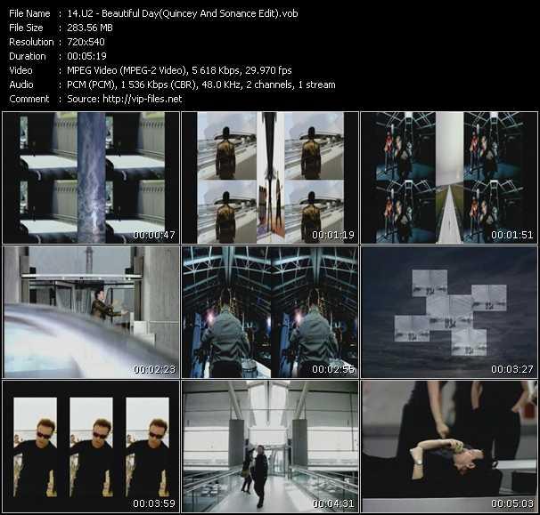 U2 - Beautiful Day (Quincey And Sonance Edit)