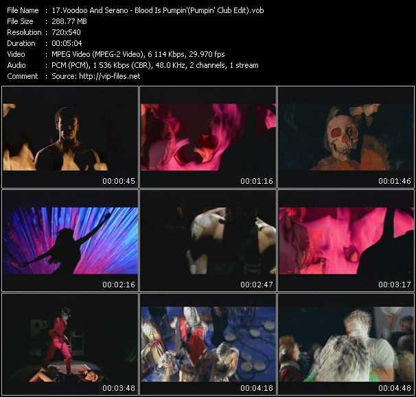 Voodoo And Serano - Blood Is Pumpin' (Pumpin' Club Edit)