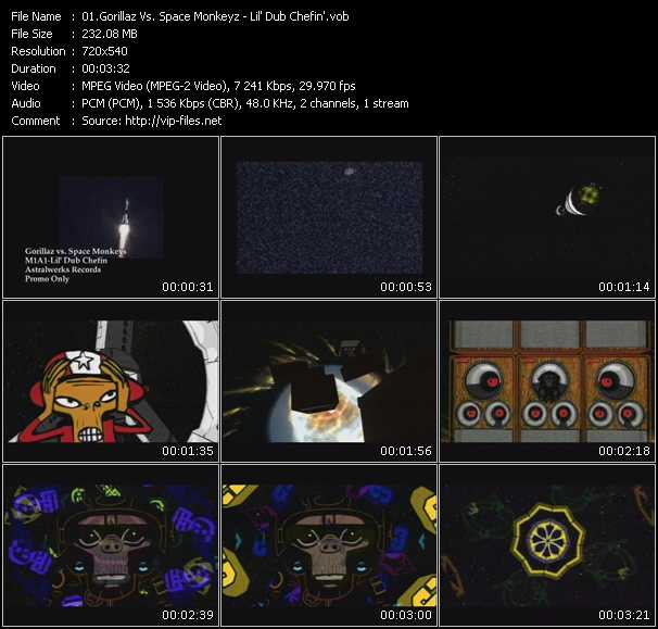Spacemonkeyz Vs. Gorillaz - Lil' Dub Chefin'