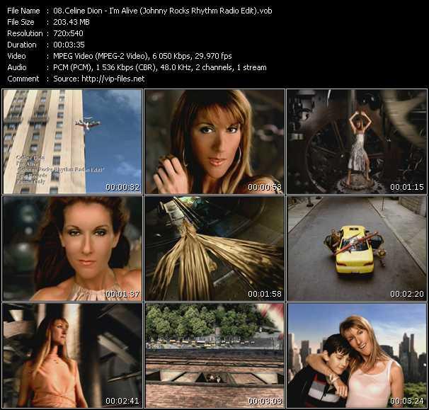 Celine Dion - I'm Alive (Johnny Rocks Rhythm Radio Edit)