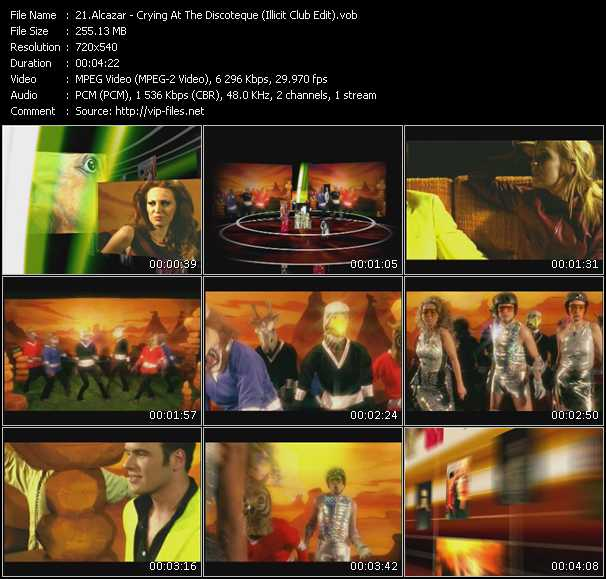 screenschot of Alcazar video