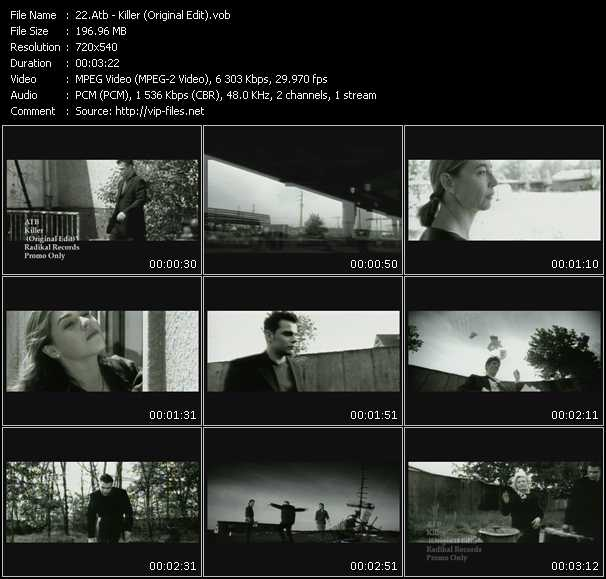 Atb - Killer (Original Edit)