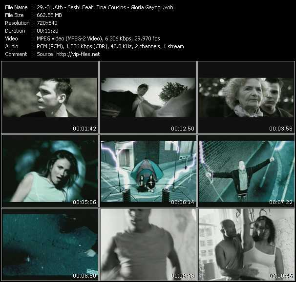 Atb - Sash! Feat. Tina Cousins - Gloria Gaynor - Killer (Original Edit) - Mysterious Times (Original Edit) - I Never Knew (Hex Hector Remix)