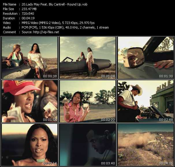 Lady May Feat. Blu Cantrell - Round Up