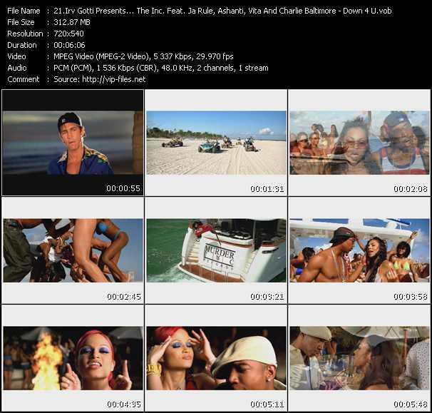 Irv Gotti Presents... The Inc. Feat. Ja Rule, Ashanti, Vita And Charli Chuck Baltimore - Down 4 U