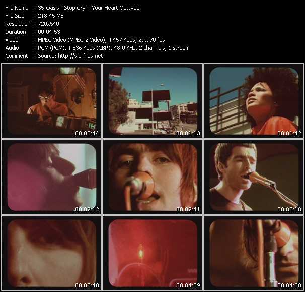 Oasis - Stop Cryin' Your Heart Out