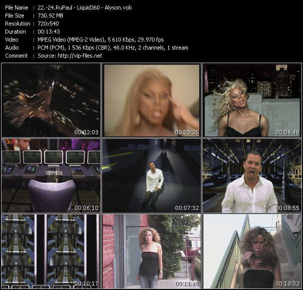 RuPaul - Liquid 360 - Alyson - WorkOut (Junior NYC Radio) - Chains Of Love (Don't Give Up Anthem Edit) - Nothin More To Say (Hex Hector Radio Edit)