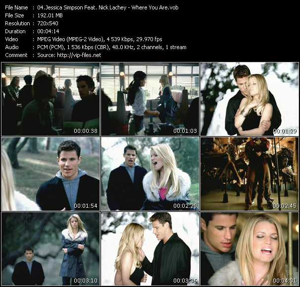 Jessica Simpson Feat. Nick Lachey - Where You Are