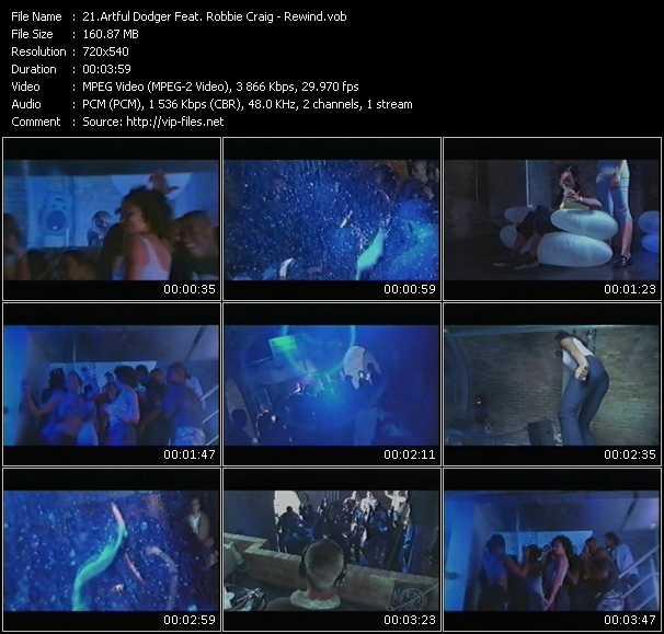 Artful Dodger Feat. Robbie Craig - Rewind