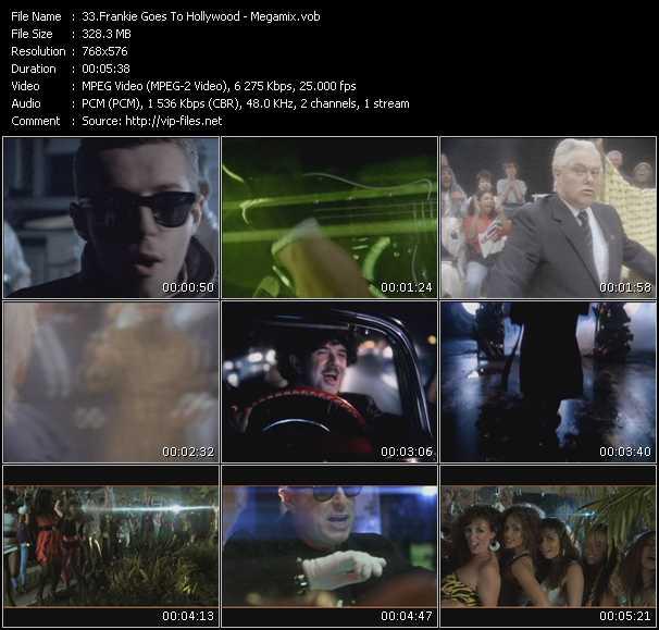 Frankie Goes To Hollywood - Megamix