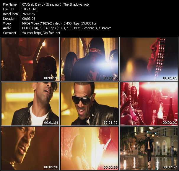 Craig David - Standing In The Shadows
