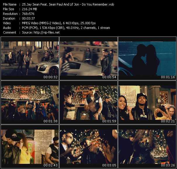 Jay Sean Feat. Sean Paul And Lil' Jon - Do You Remember