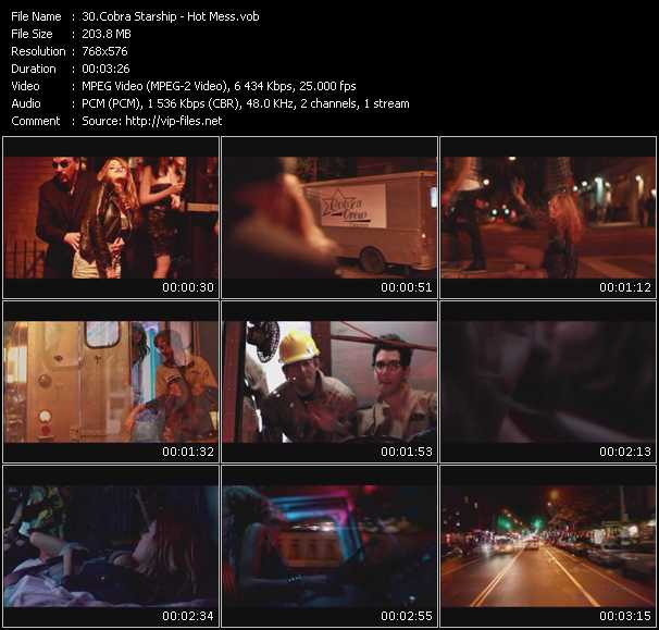 Cobra Starship - Hot Mess