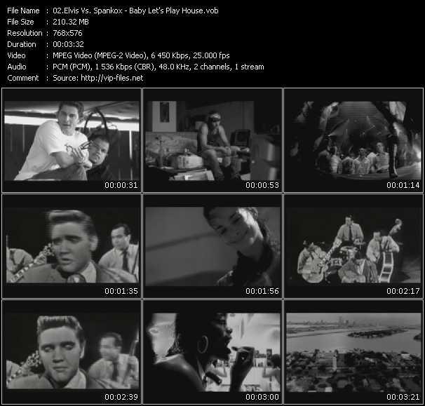 Elvis Presley Vs. Spankox - Baby Let's Play House