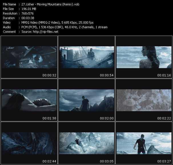 Usher - Moving Mountains (Remix)