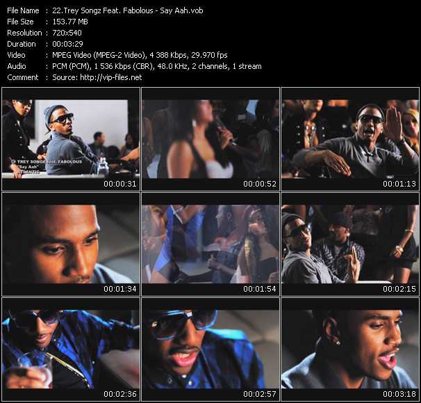 Trey Songz Feat. Fabolous - Say Aah