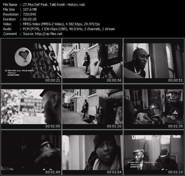 Mos Def Feat. Talib Kweli - History