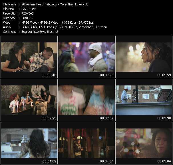 Amerie Feat. Fabolous - More Than Love