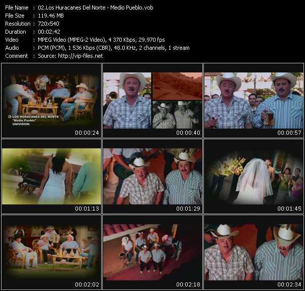 Los Huracanes Del Norte - Medio Pueblo