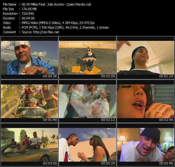 90 Millas Feat. Julio Acosta - Quien Manda