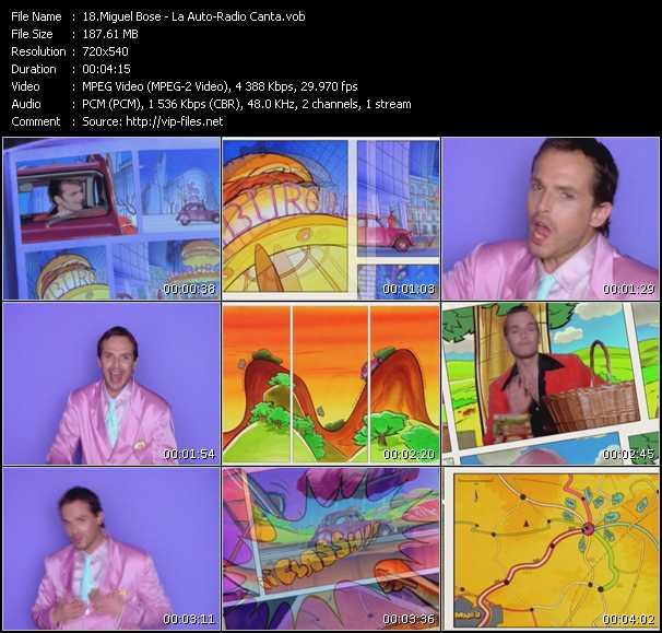 Miguel Bose - La Auto-Radio Canta