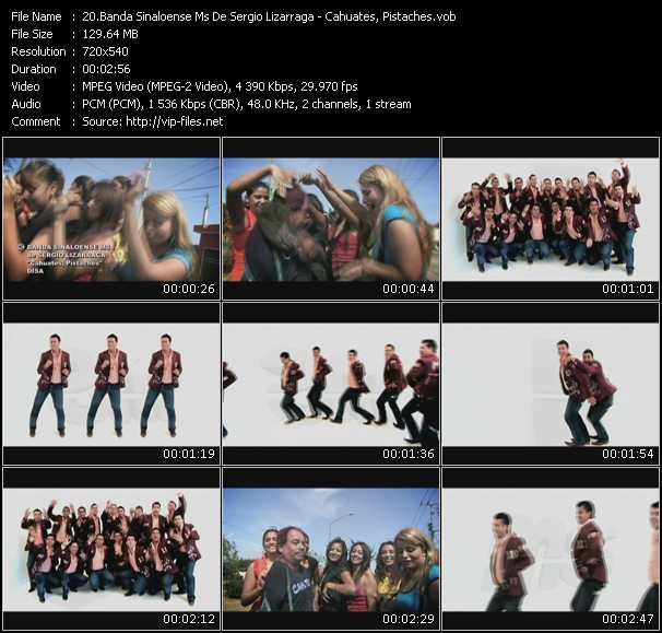 Banda Sinaloense Ms De Sergio Lizarraga - Cahuates, Pistaches