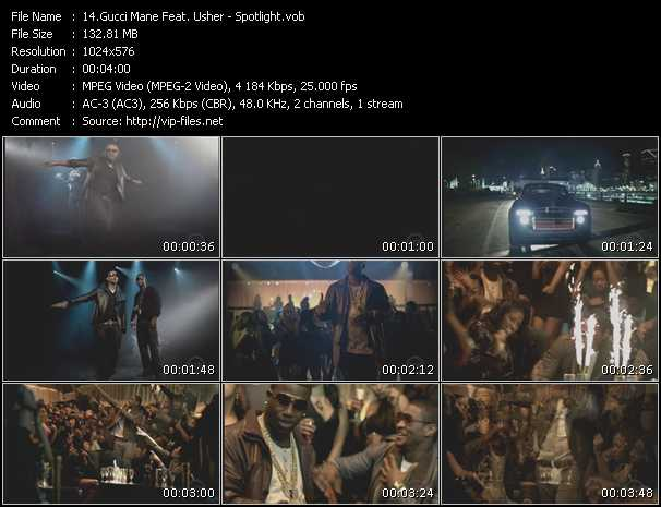 Gucci Mane Feat. Usher - Spotlight