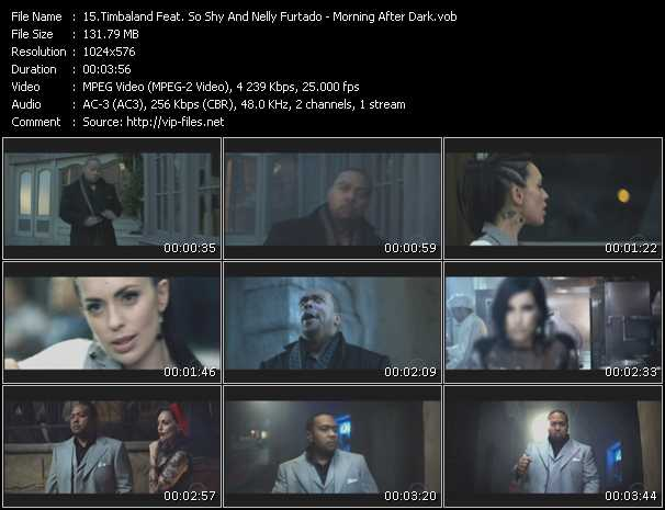 Timbaland Feat. SoShy And Nelly Furtado - Morning After Dark