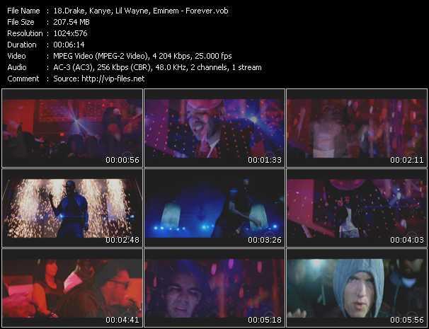 Drake, Kanye, Lil' Wayne, Eminem - Forever