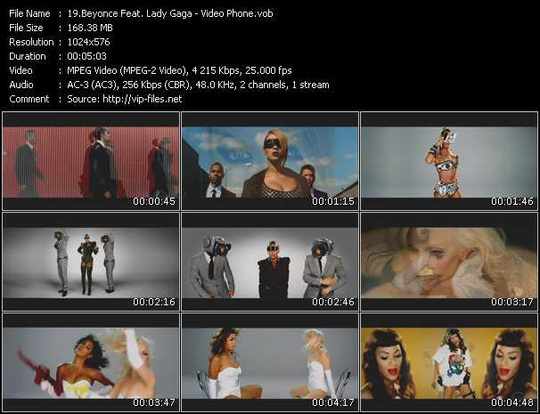 Beyonce Feat. Lady Gaga - Video Phone