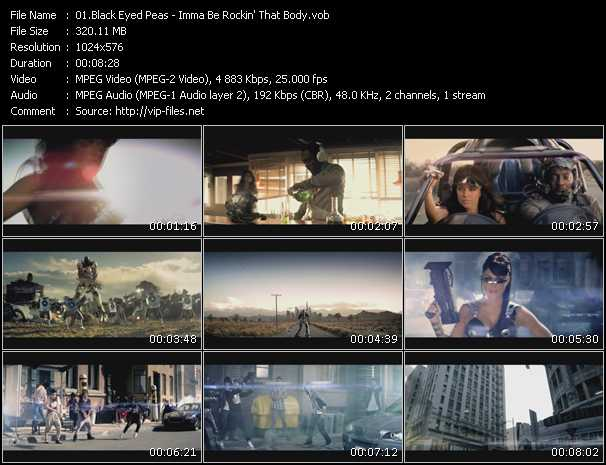 Black Eyed Peas - Imma Be Rockin' That Body