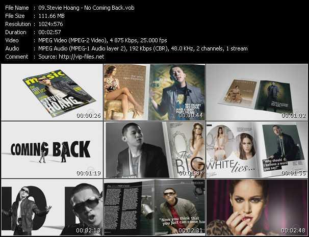 Stevie Hoang - No Coming Back