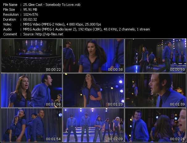 Glee Cast - Somebody To Love