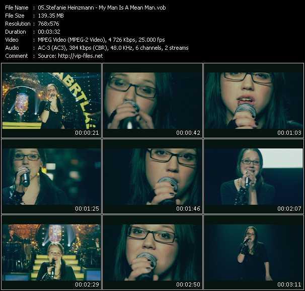 Stefanie Heinzmann - My Man Is A Mean Man