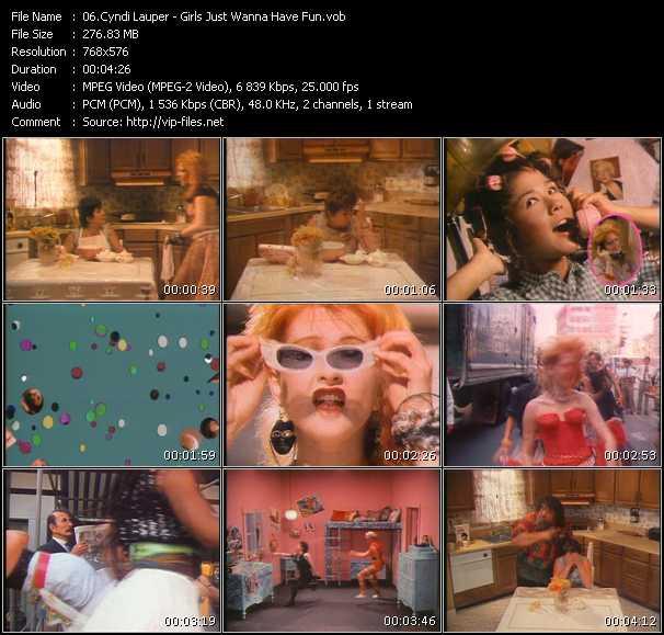 Cyndi Lauper - Girls Just Wanna Have Fun