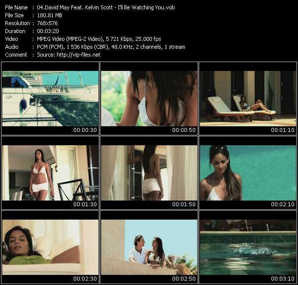 David May Feat. Kelvin Scott - I'll Be Watching You
