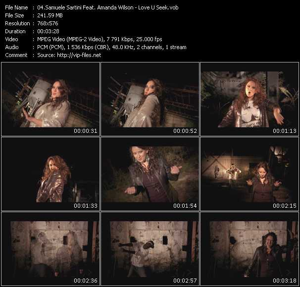 Samuele Sartini Feat. Amanda Wilson - Love U Seek