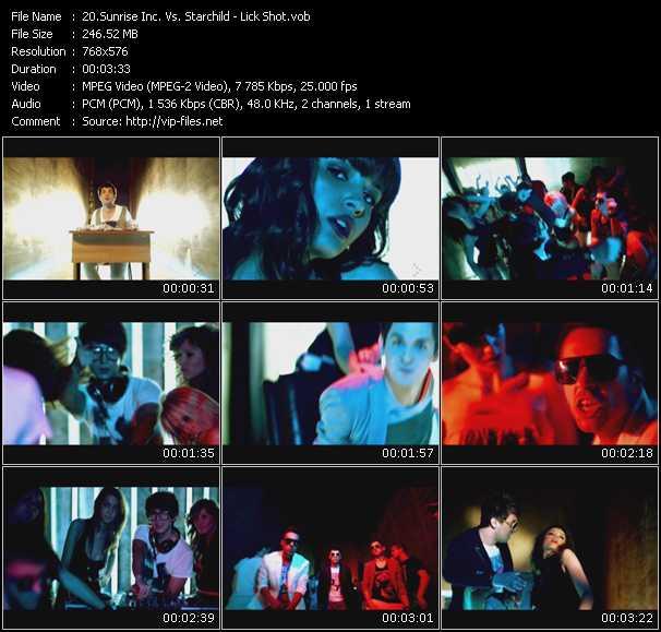 Sunrise Inc. Vs. Starchild - Lick Shot