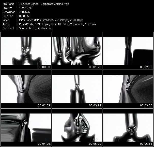 Grace Jones - Corporate Criminal