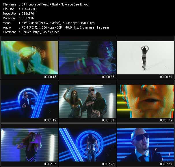 Honorebel Feat. Pitbull - Now You See It
