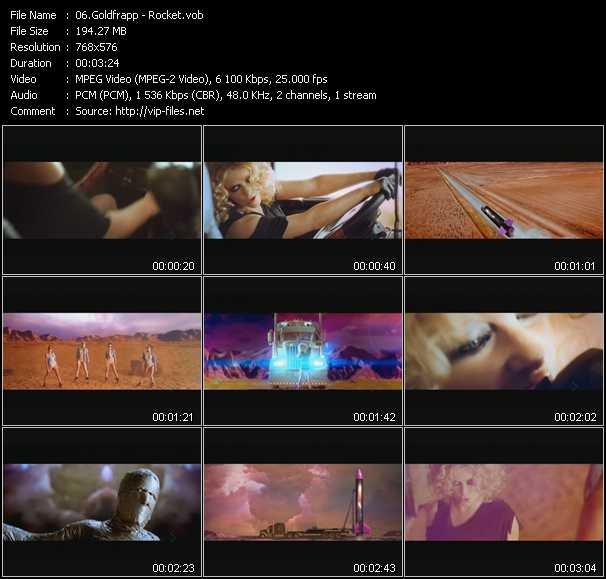 Goldfrapp - Rocket