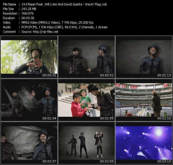 K'Naan Feat. Will.I.Am And David Guetta - Wavin' Flag