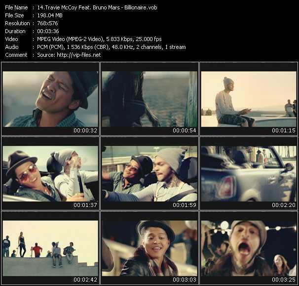 Travis McCoy Feat. Bruno Mars - Billionaire