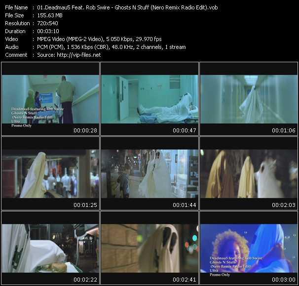 Deadmau5 Feat. Rob Swire - Ghosts N Stuff (Nero Remix Radio Edit)