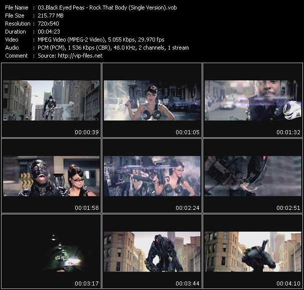 Black Eyed Peas - Rock That Body (Single Version)
