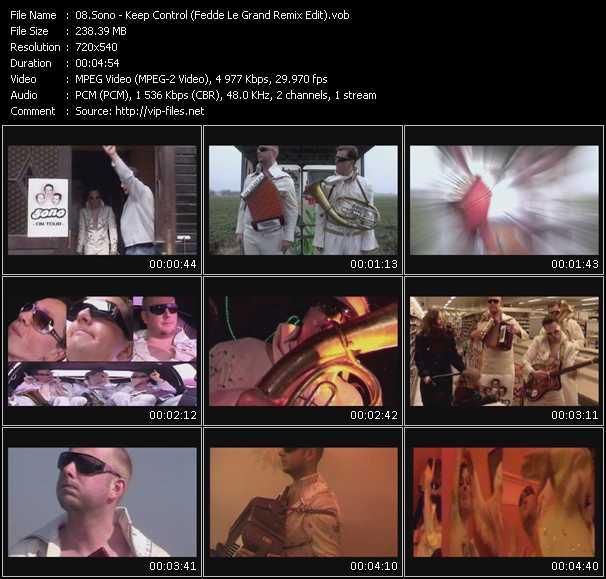 Sono - Keep Control (Fedde Le Grand Remix Edit)