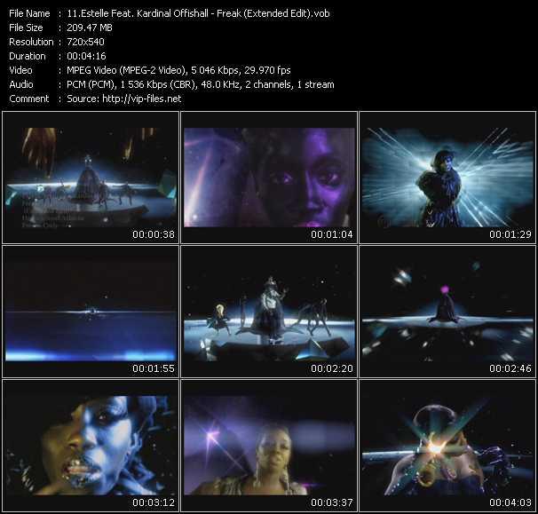 Estelle Feat. Kardinal Offishall - Freak (Extended Edit)